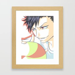 Kuroo Tetsuroo Framed Art Print