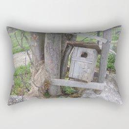 Birdhouse Rectangular Pillow