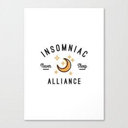Insomniac Alliance Canvas Print