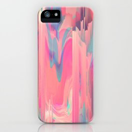 Simply Glitches iPhone Case