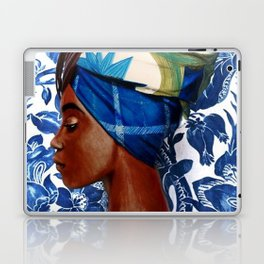 Turban lady Laptop & iPad Skin