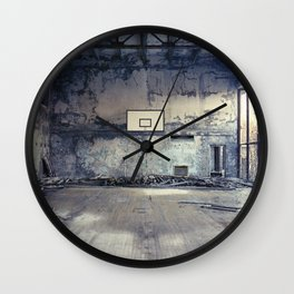 Baskets Wall Clock