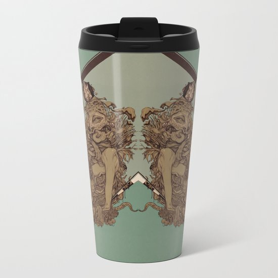 Remember Mind Metal Travel Mug