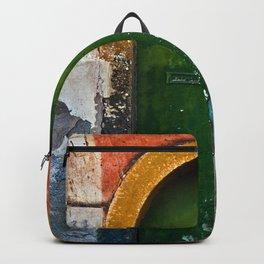 Magic Green Door in Sicily Backpack