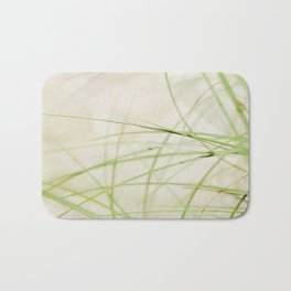 Green Wisps Bath Mat