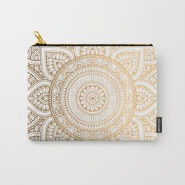 Luxury gold pattern Carry-All Pouch