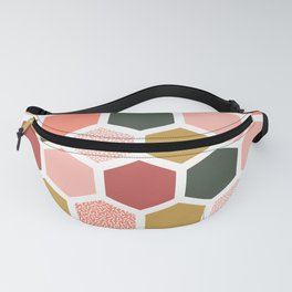 Hexagon Party Fanny Pack
