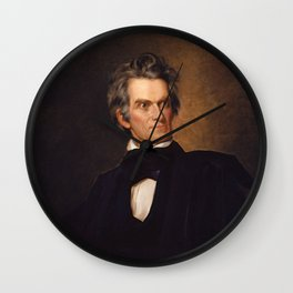 John C. Calhoun Wall Clock