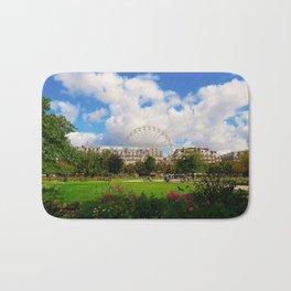 Garden of Tuileries Bath Mat