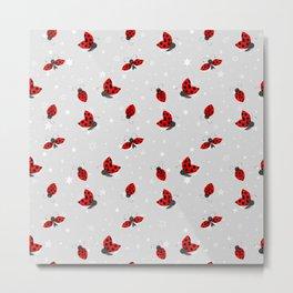 Ladybug Lady Beetle Coccinellidae Metal Print