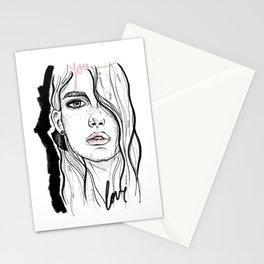 Portrait nº1 Stationery Cards