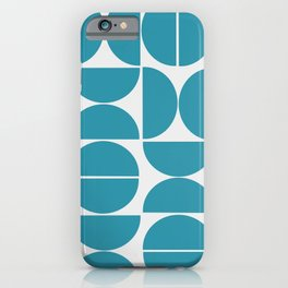 Puzzle Design Bl. iPhone Case