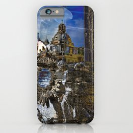 Roman Impression iPhone Case