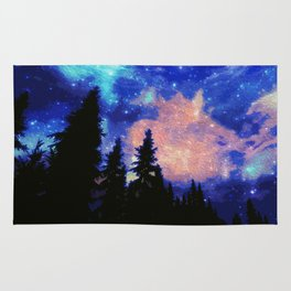 The Galaxy Above Us Rug