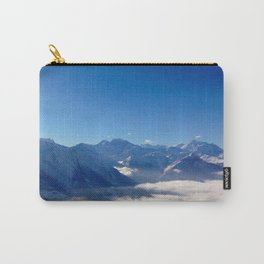 Alps above the clouds Carry-All Pouch