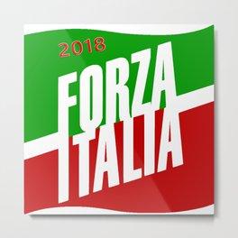 Forza Italy 2018 Metal Print