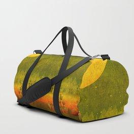 """""""Green Lemon Sunset"""" Duffle Bag"""