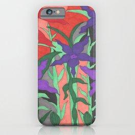 Twilight Sun Garden Floral Art iPhone Case