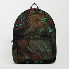 motion m flowers Backpack