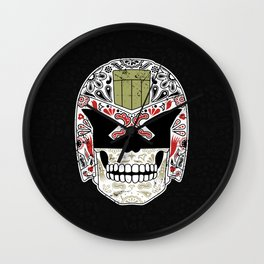 Day of the Dredd - Black Variant Wall Clock