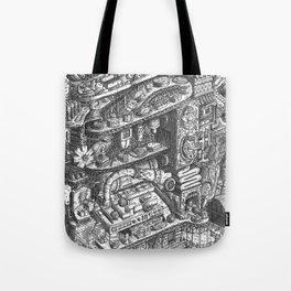 Farmer Machinery Tote Bag