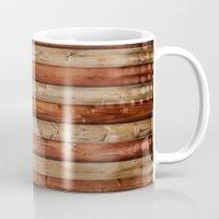 america Mugs featuring america by Arken25