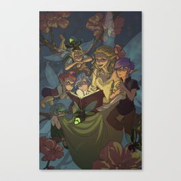 Storytime Canvas Print