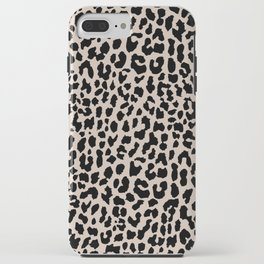 Tan Leopard iPhone Case