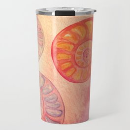 Seashells Travel Mug