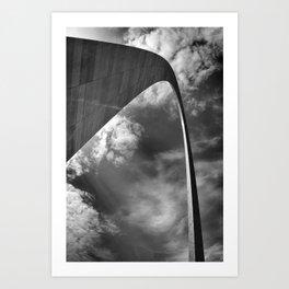 Gateway arch in St-Louis Art Print