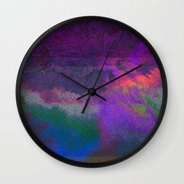 66-63-18 (Universe Rising Glitch) Wall Clock