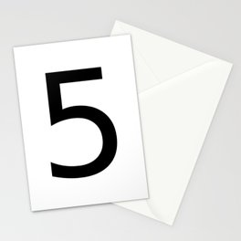 5 - Five Stationery Cards