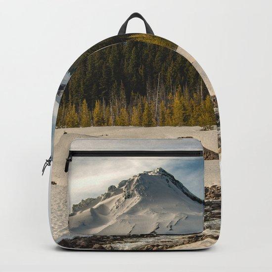 Marvelous Mount Hood at sunset Backpack