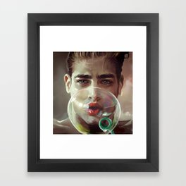 Blow Framed Art Print