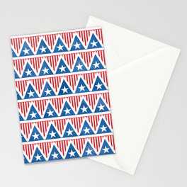 Old Glory Triangles // July 4th Collection Stationery Cards