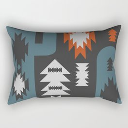 Tribal cacti Rectangular Pillow