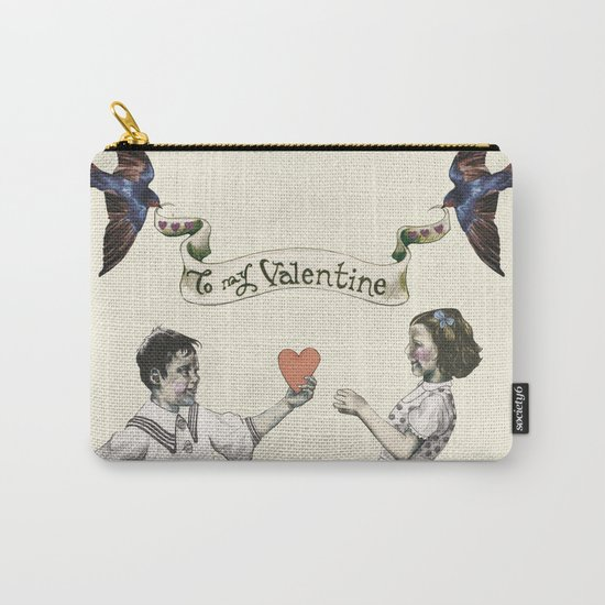 To My Valentine Carry-All Pouch
