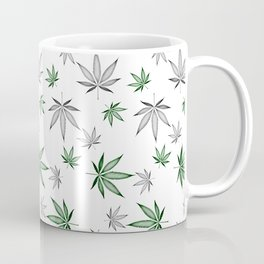 Weed Illustrated Coffee Mug