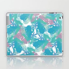 Tropical Blue Frog Pattern Laptop & iPad Skin
