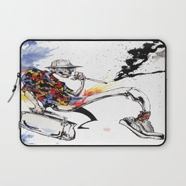 Hunter S Thompson by BINDU Laptop Sleeve