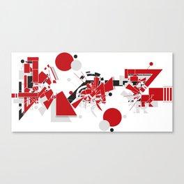 Kaz Canvas Print