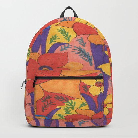 Sunshine and Wildflowers Backpack