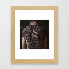 chains Framed Art Print