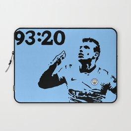 Sergio Aguero MCFC Laptop Sleeve