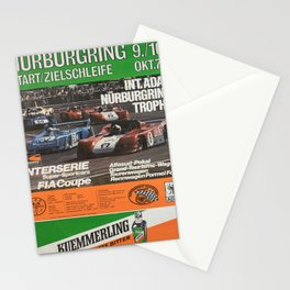 Advertisement nurburgring interserie super Stationery Cards