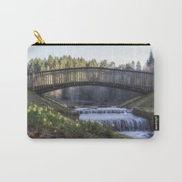 Daffodils by the Brook Carry-All Pouch