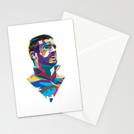 Eric Cantona Colour Portrait Stationery Cards