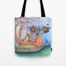 Ballet contemporaneo Tote Bag