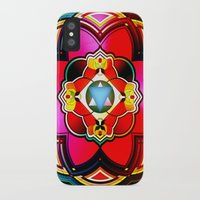 sacred geometry iPhone & iPod Cases featuring Sacred by Sircasm