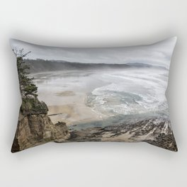 Lookout Point near Otter Rock Rectangular Pillow